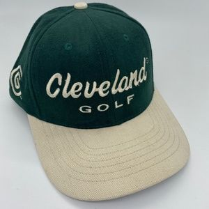 Cleveland Golf Microfiber Hat / Cap - Adjustable - Green - Made In USA